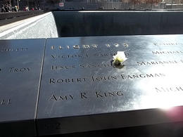 It was so touching to see roses next to the names of the fallen on their birthdays. , James W F - March 2014