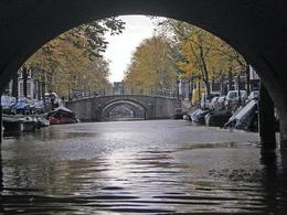 The spot in Amsterdam where you can see 7 bridges all lined up. - May 2008