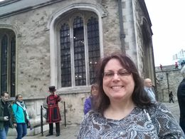 Waiting for my chapel tour to start. , Julie L - September 2015