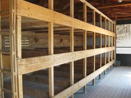 Beds prisonsers slept on at dachau, Richard S - August 2010