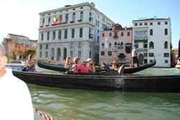 The gondola spent about 5 minutes at the grand canal before entering smaller ones. , Peter L - August 2011