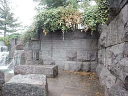 I found the FDR Memorial to be especially interesting and John's commentary brought it to life. , Linda Mulhollan M - June 2016