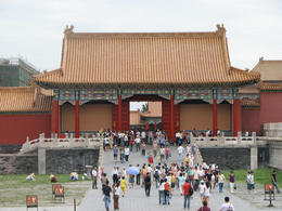 Walking through the Forbidden City., Bandit - May 2012