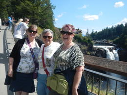 At the Snoqualmie Falls , Susan S - September 2013