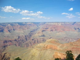 Enjoying a great view of the south rim , Tony - September 2015