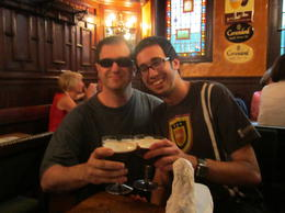 Beer 8.....Pub 3....what a great day of bonding for father and son !!! , Steven G - May 2011