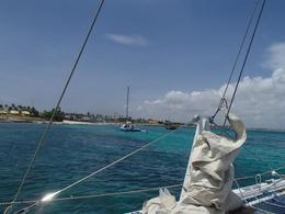 the crystal blue waters of the Caribbean , Daniel C - July 2012