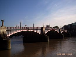 Photo of London Thames Clippers River Roamer: Hop On Hop Off Pass One of the bridges we went under on the Clipper