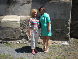 Photo of Rome Catacombs and Roman Countryside Half-Day Walking Tour Our tour guide and myself