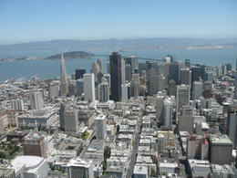 This was the view of San Francisco from our helicopter tour - fantastic! , Mrs Eileen T - June 2013