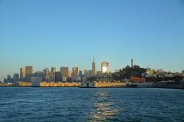 San Francisco sunset from the boat. Amazing view , Donna C - September 2014