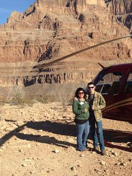 We got to spend some great time below the rim of the Canyon to enjoy the views, Krystal W - March 2014