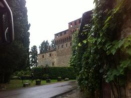 Photo of Florence Chianti Region Wine Tasting Half-Day Trip from Florence The castle and grounds after a storm