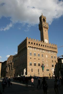 This is the square (Piazza) next to the Uffizi Gallery, Chip T - July 2009