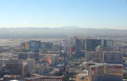 View of the strip from the helicopter on our return flight. , Douglas H - November 2014