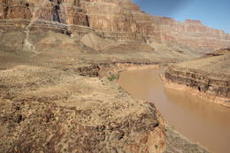 Colorado River cut it's way through the Grand Canyon , Calan M - December 2014
