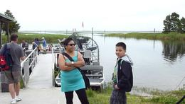 Photo of Everglades National Park Florida Airboat Adventure waiting and watching to go also