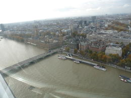 There's something you don't get to see every day - looking DOWN at Big Ben!, CoyoteLovely - November 2011