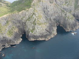 Photo of Bay of Islands Bay of Islands and Hole in the Rock Scenic Helicopter Tour Cliffs