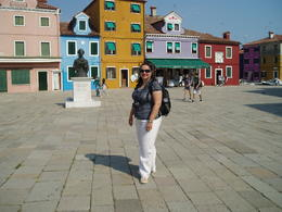 Photo of Venice Murano, Burano and Torcello Half-Day Sightseeing Tour Colorful homes on island