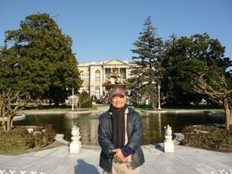This is me (Rick) right in front of the palace. Its so grandiose, very different from other palaces that I have seen in Europe. , Rick and Ildy Vinas - May 2011