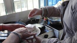 Photo of Xian Experience Xi'an: Dumpling Making and Family Cooking Class Deep fry