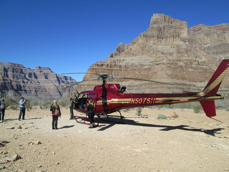 Helicopter in Grand Canyon - Las Vegas
