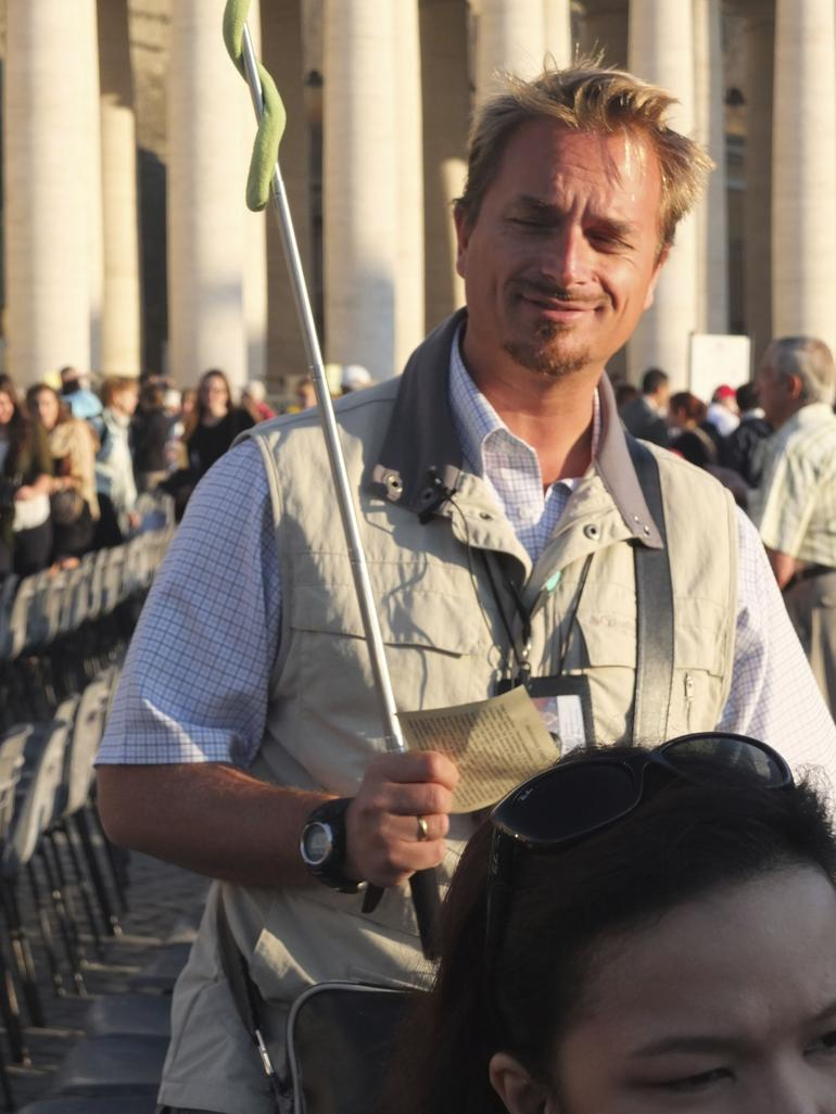 Our Guide for the Papal Audience - Rome