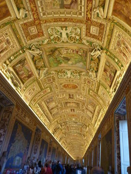 Inside the Vatican Museum, fascinating and amazing! , Grant W - March 2011