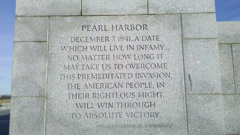 Pearl Harbor - Washington DC