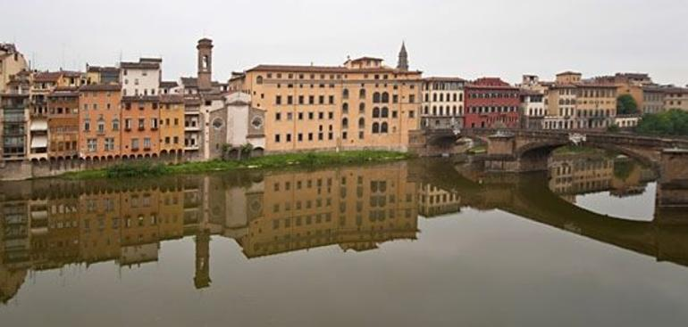 Reflections in the Arno River - Florence