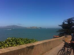 Looking out at the bay, Kierra - August 2014