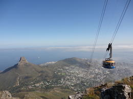 The view from the top of Table Mountain, Nick - March 2012