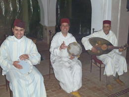 Photo of Marrakech Marrakech Dinner and Show in a Moroccan Palace The musicians