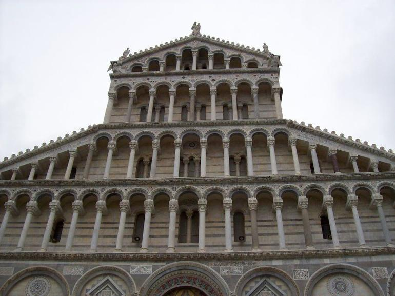 Top Tiers of Pisa Cathedral - Florence
