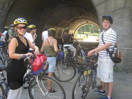 Photo of New York City Hudson River Park Greenway and Central Park Bike Tour Tunnel  in Hudson River Park