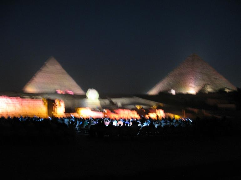 Venus Above the Pyramids - Cairo