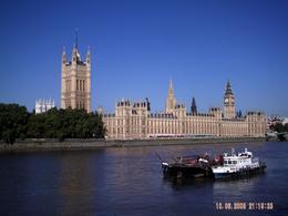 Photo of London Thames Clippers River Roamer: Hop On Hop Off Pass View from the south bank on the way to the eye