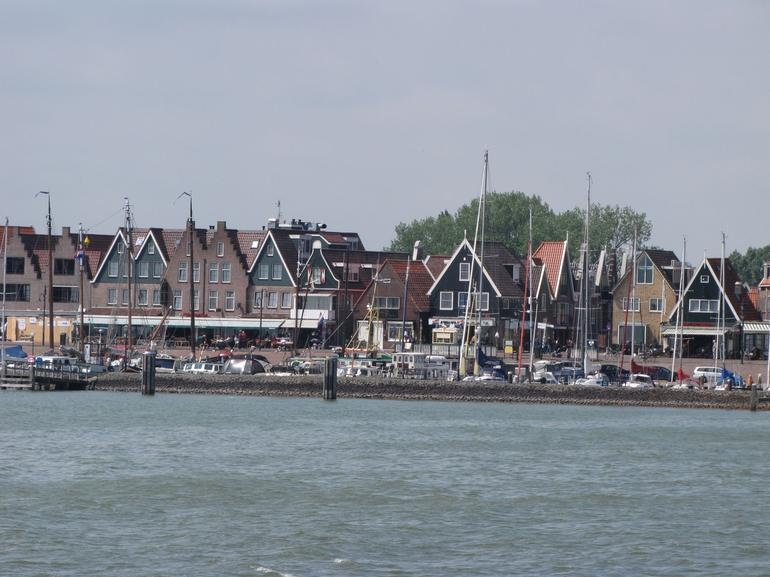 View of Volendam from boat - Amsterdam