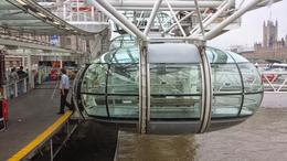 London Eye capsule , Laura J - December 2014