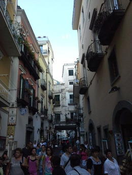 Street in Amalfi, such a beautiful town. , Pamela P - September 2013