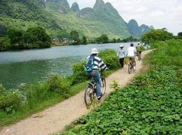 Photo of Yangshuo Private Tour: Yangshuo Bike Adventure including Tai Chi Lesson and Chinese Massage Biking trails
