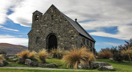 Photo of Queenstown Queenstown to Christchurch via Mount Cook Full-Day Tour Church of Good Shepherd, Lake Tekapo