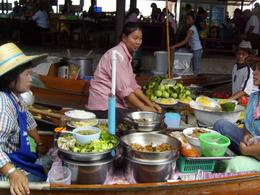 Photo of Bangkok Floating Markets of Damnoen Saduak Cruise Day Trip from Bangkok cooking