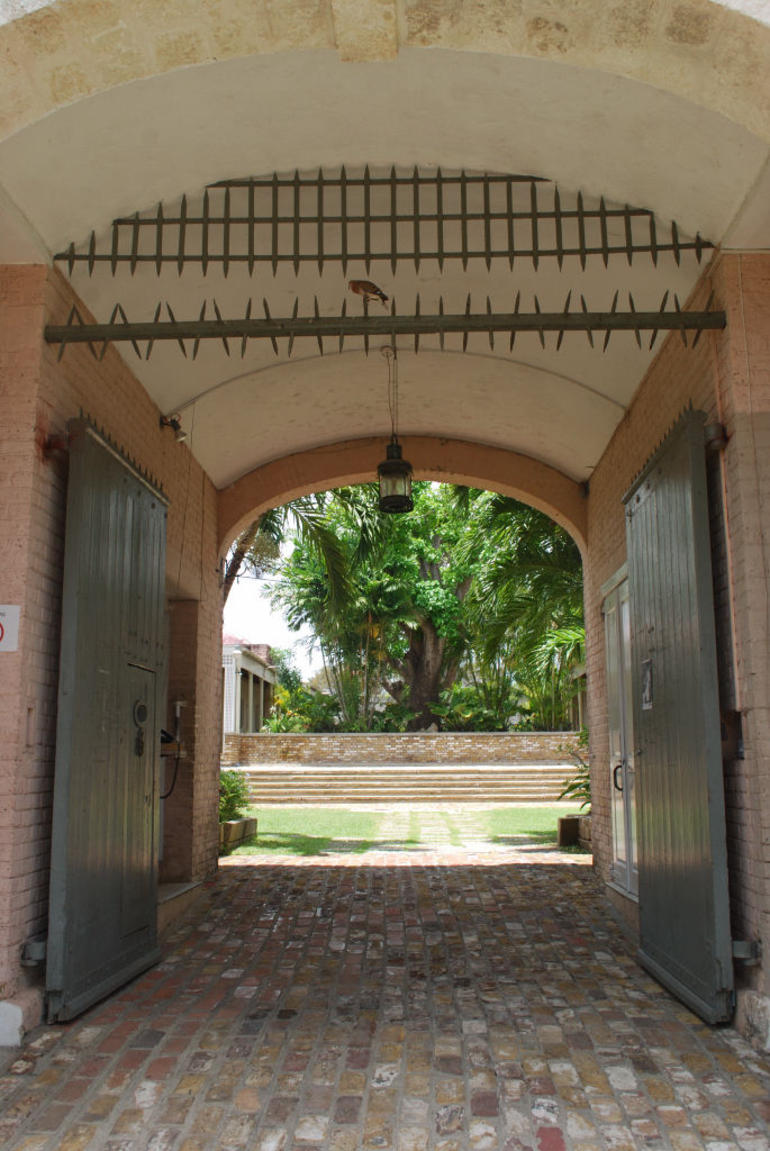 Entrance Gate - Barbados