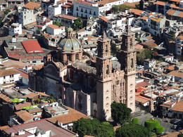 View of Taxco from the Christ the Redeemer monument. , Kevin F - May 2013
