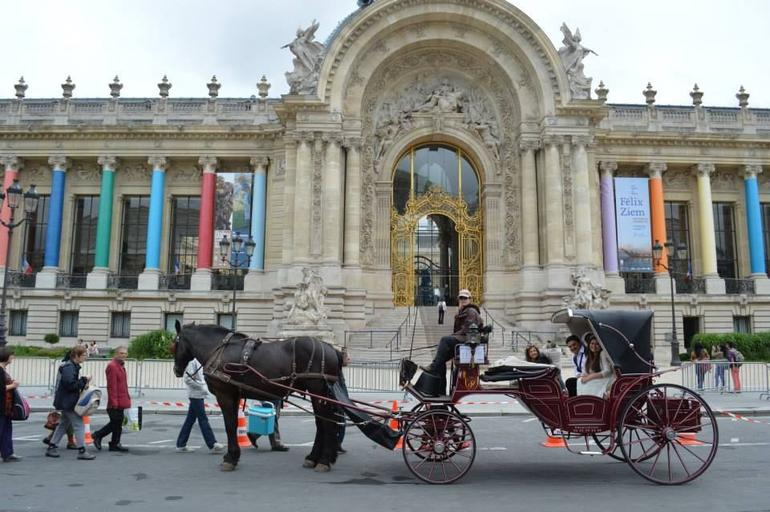 Horse and Carriage Ride -Paris -