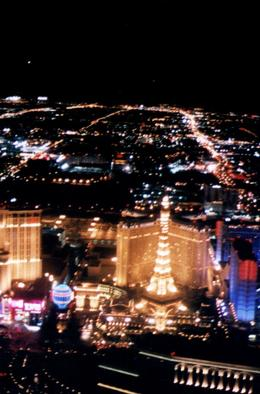 Photo of Las Vegas Las Vegas Night Strip Helicopter Tour Las Vegas Strip as seen from the helicopter