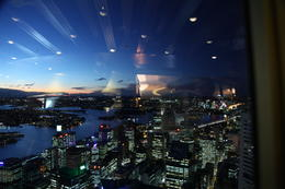 Photo of Sydney Sydney Tower Restaurant Buffet Night Scenery of Sydney