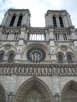 Notre Dame Cathedral - bus takes you right there!, Susan N - August 2010